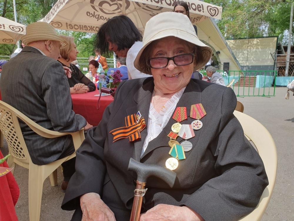 Мирного неба над головой пожелали волгодонцам ветераны Великой Отечественной войны