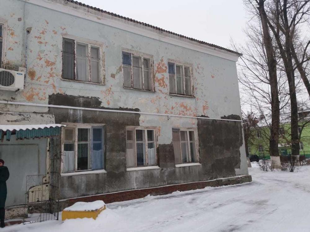 Детский тубдиспансер в Волгодонске разваливается на глазах