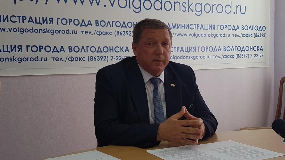Денег на текущий ремонт дорог в Волгодонск нет