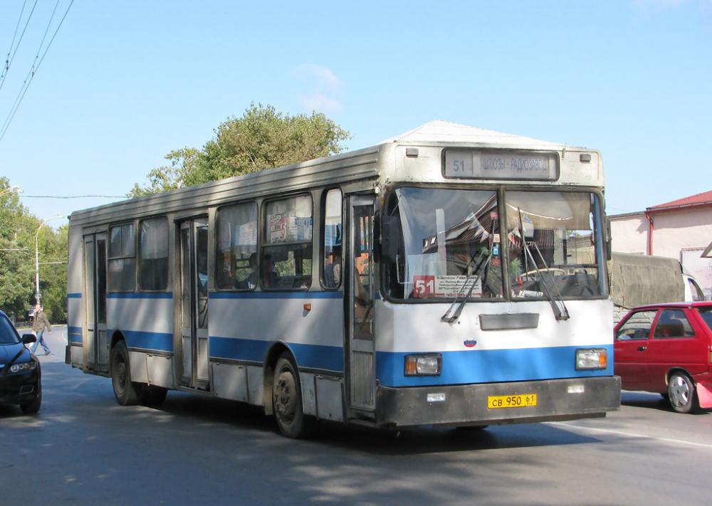 Из-за жуткой жары больше половины автобусов вышли из строя в Волгодонске