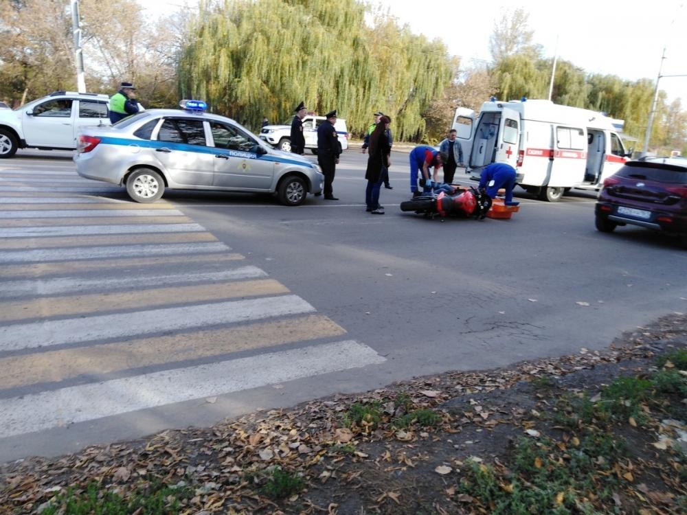 Мотоциклист сбил пешехода на «пятом» в Волгодонске