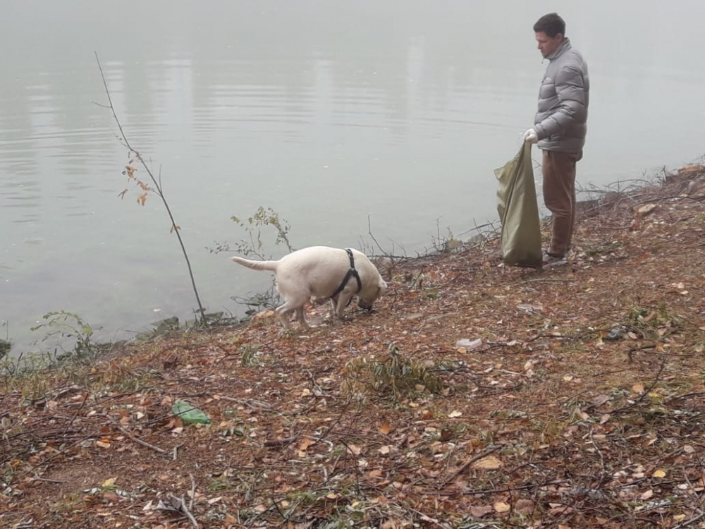 Волонтеры убрали от мусора берег Волго-Донского судоходного канала