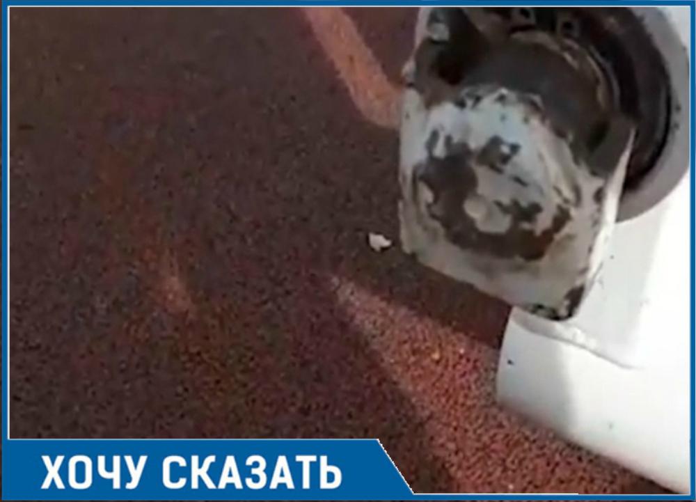 Антивандальную площадку умудрились сломать хулиганы в Волгодонске