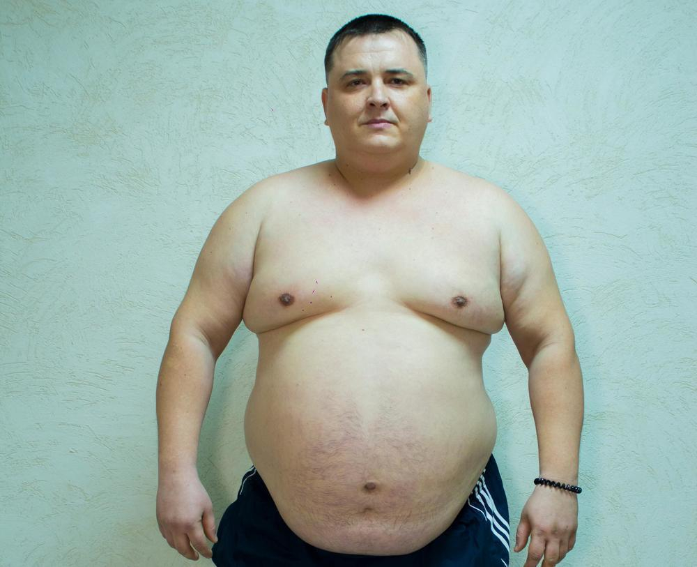 142 килограмма весит грузчик «Ванты» Павел Попов - третий участник «Сбросить лишнее»