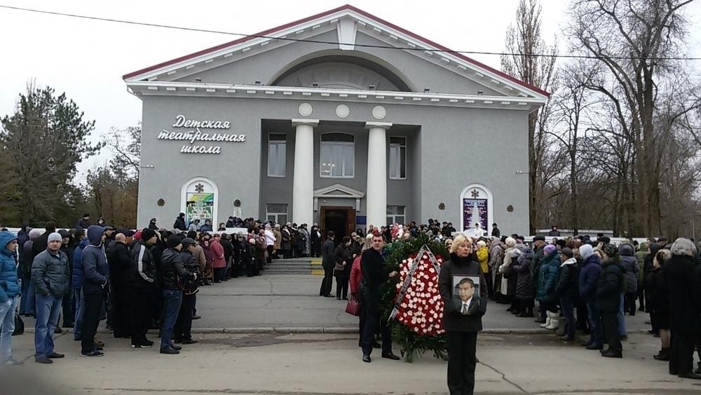 Директора «Артемиды» Александра Смольянинова  похоронили на Аллее почетных захоронений