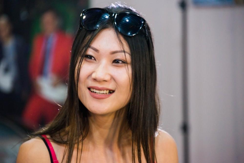 В России живут 42 миллиона человек, - участница «Мисс Блокнот» Александра Ни