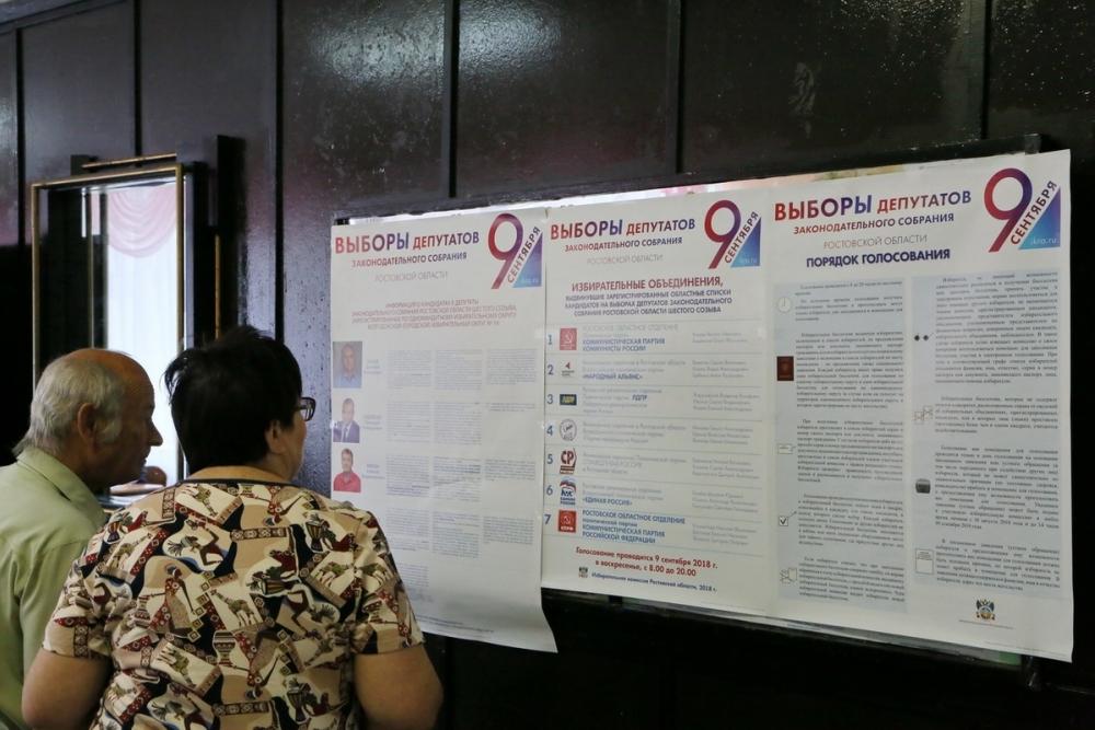 Волгодонск: итоги выборов в Законодательное Собрание Ростовской области