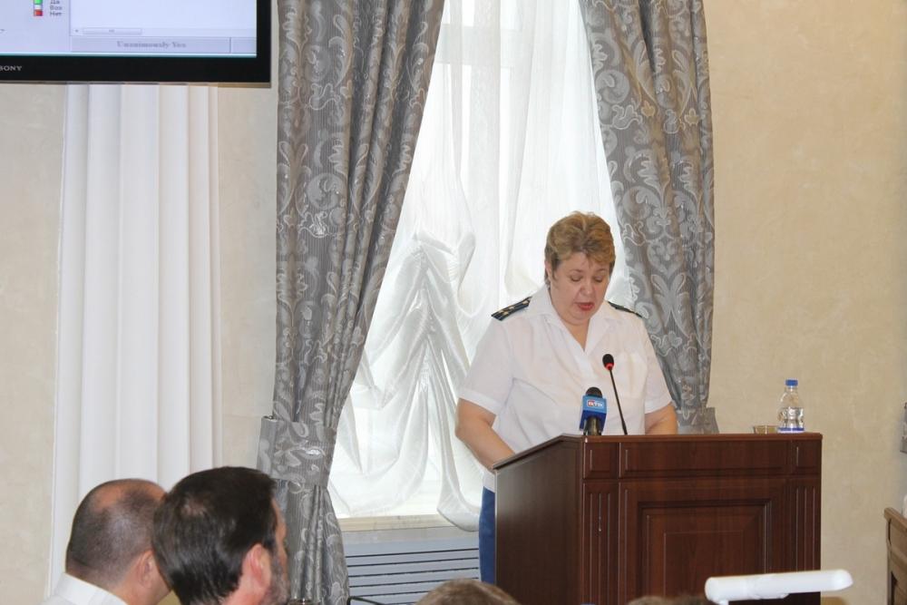 Зампрокурора Волгодонска рассказала о состоянии преступности в городе