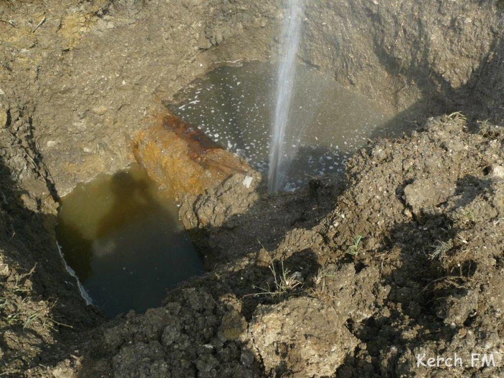 В Волгодонском районе в результате порывов трубопроводов жители Лагутники остались без воды