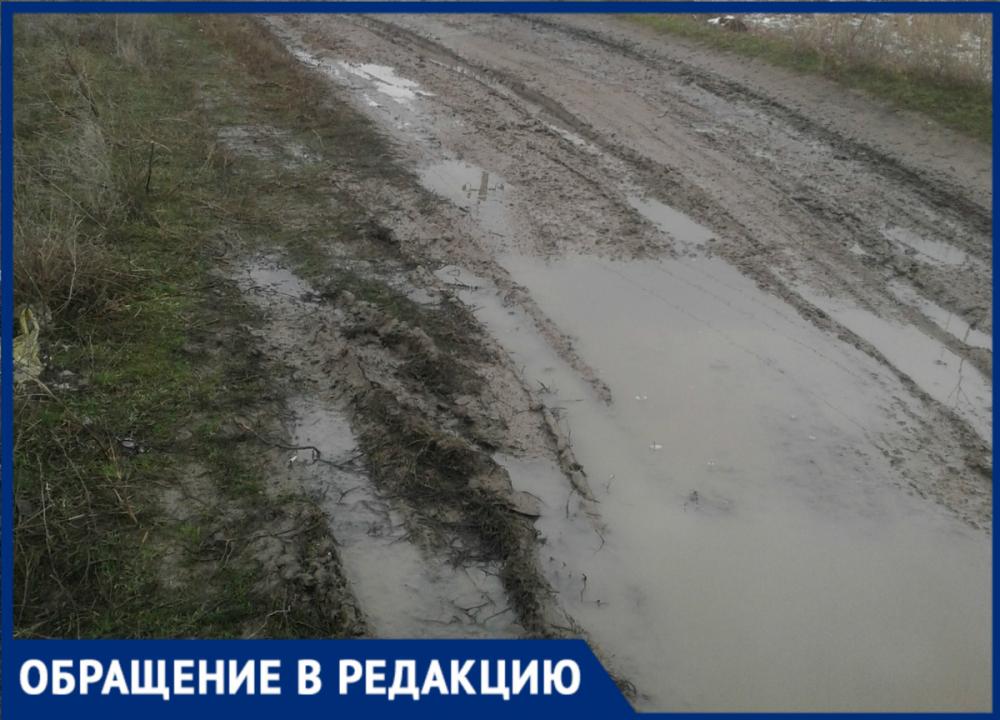 Жители станицы Романовской устали жить в непролазной грязи