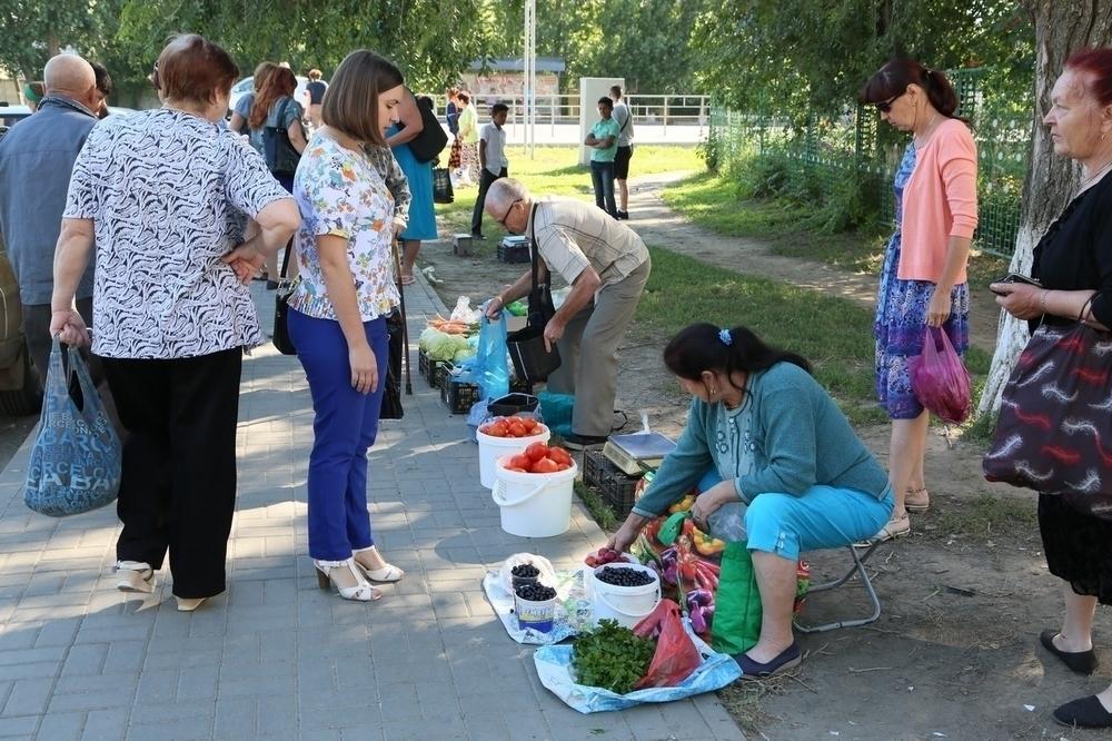 Стихийную торговлю гонят прочь с улиц Волгодонска