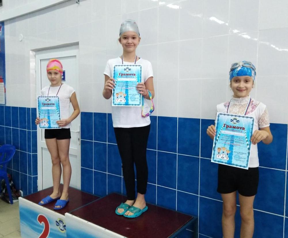 В Волгодонске определили победителей соревнований по плаванию «Я стану чемпионом»