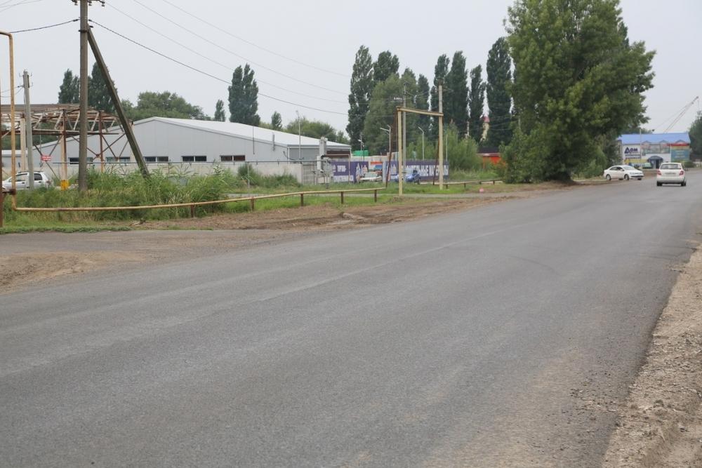 Ремонт автодороги по улице Степная в Волгодонске завершен