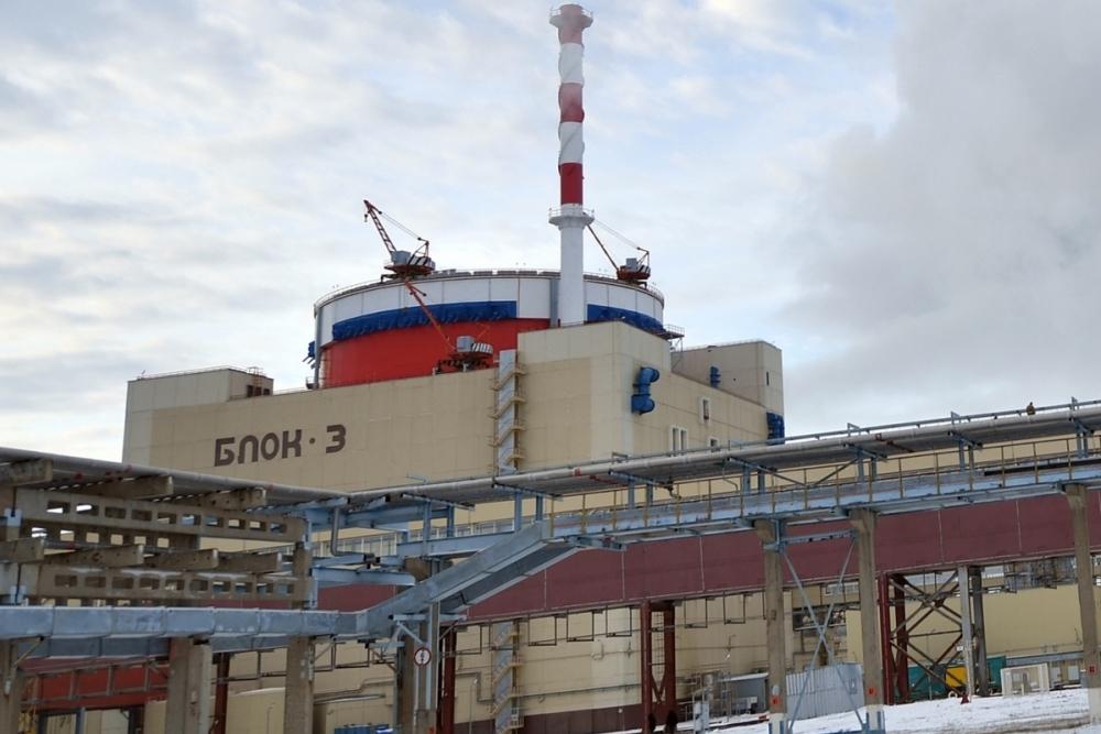 В новогоднюю ночь энергоблок №3 РоАЭС остановят на техническое обслуживание