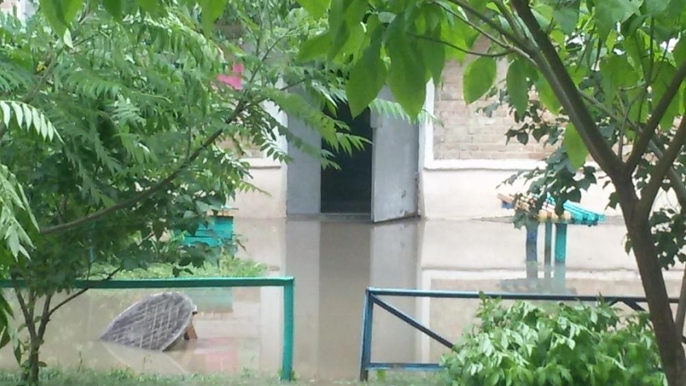 Даже в деревне такого нет — в Волгодонске дождевая вода ворвалась в подъезды жилого дома