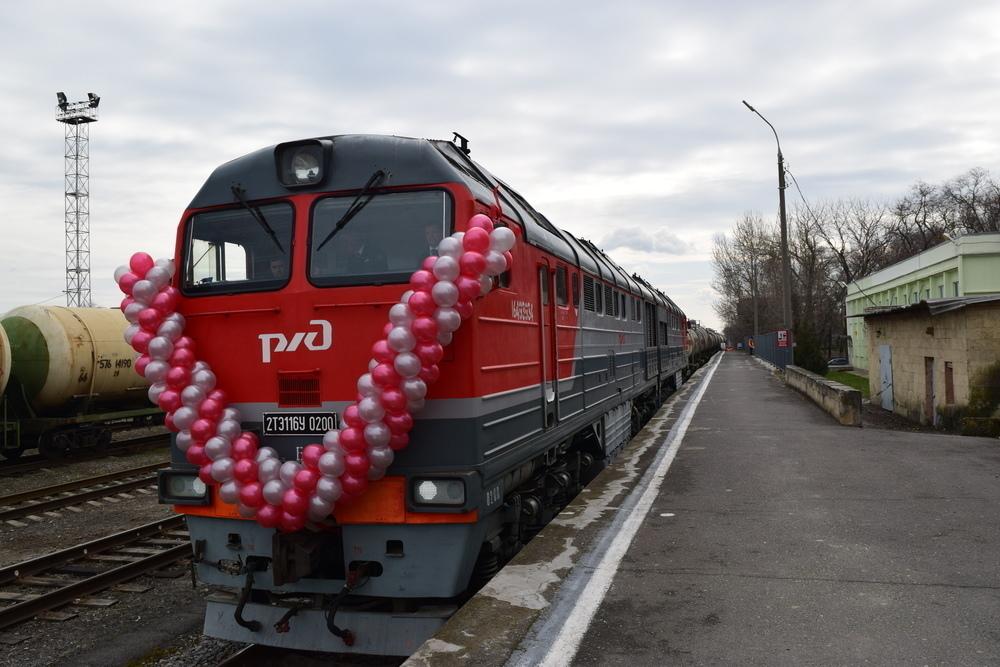 Железную дорогу Волгодонск - Морозовск открыли два Мельникова