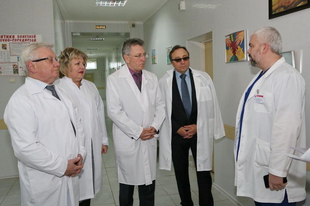 Первая операция в сосудистом центре Волгодонска спасла жизнь человеку