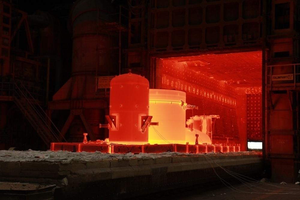 Атоммаш провел термообработку бакового оборудования из Хастеллоя при температуре более 1100 градусов