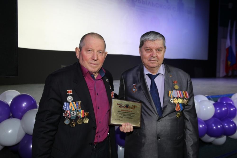 Знаком «Ветеран чернобыльского движения» наградили волгодонца Александра Фомина