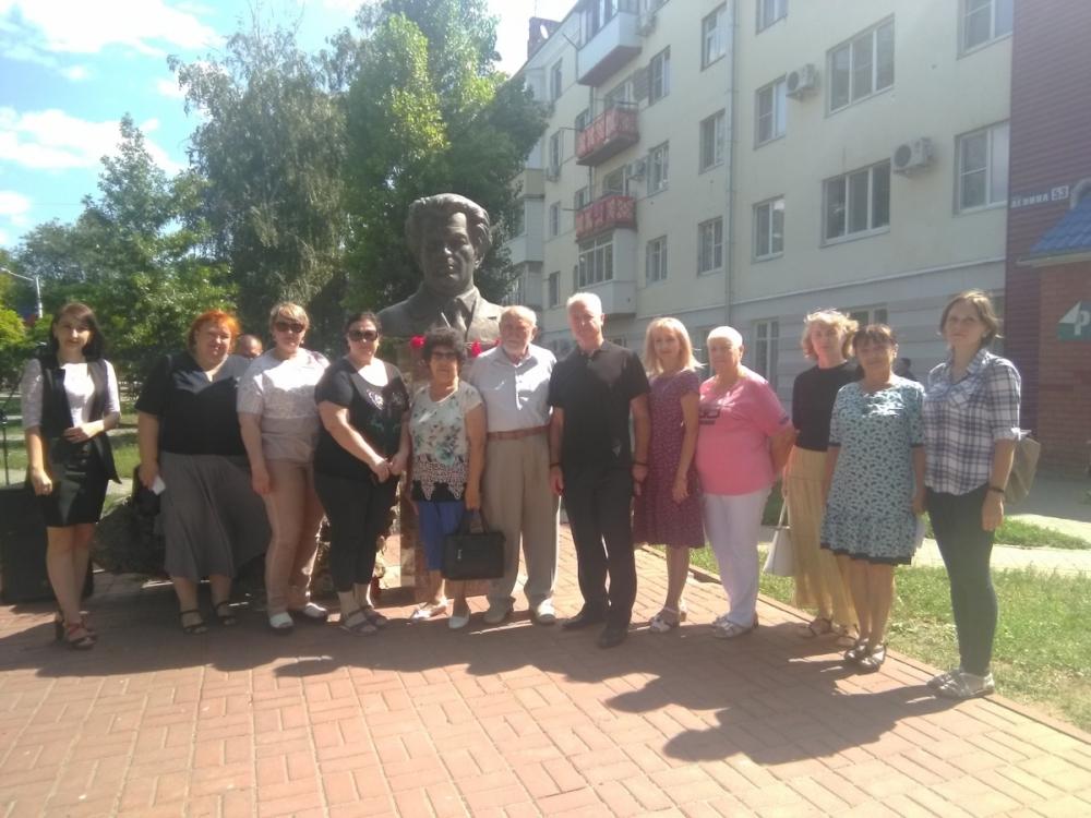 Волгодонск вспомнил Александра Тягливого