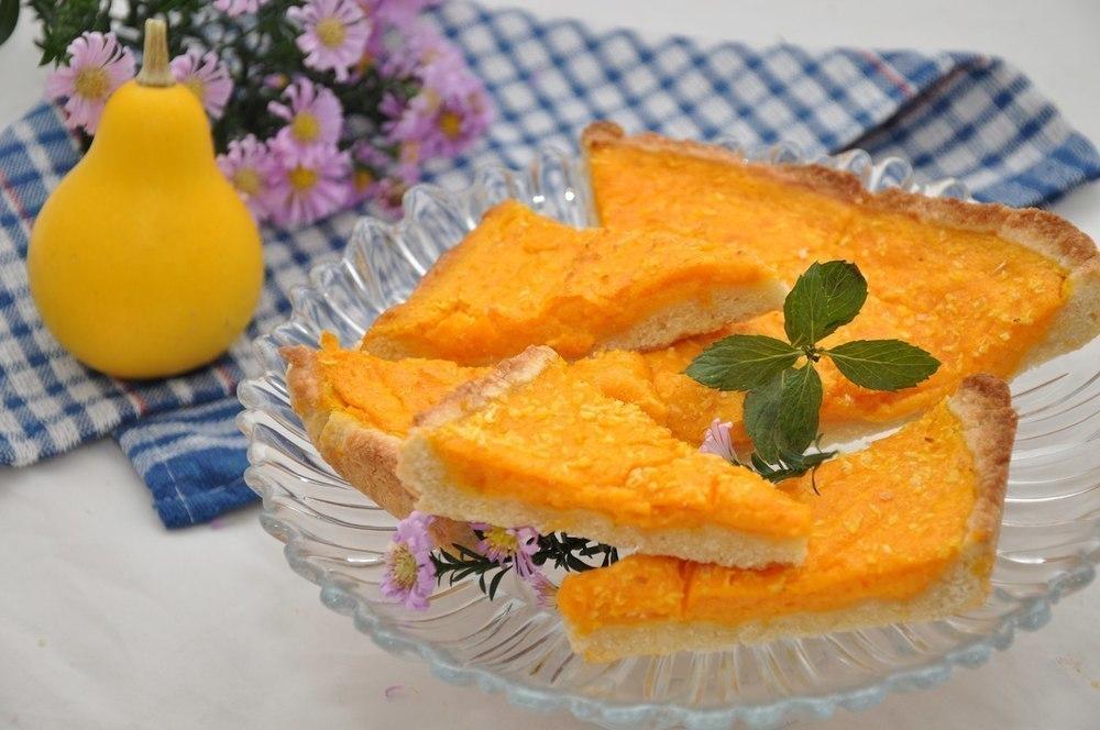 Воскресное блюдо дня: Французский пирог с тыквенной начинкой