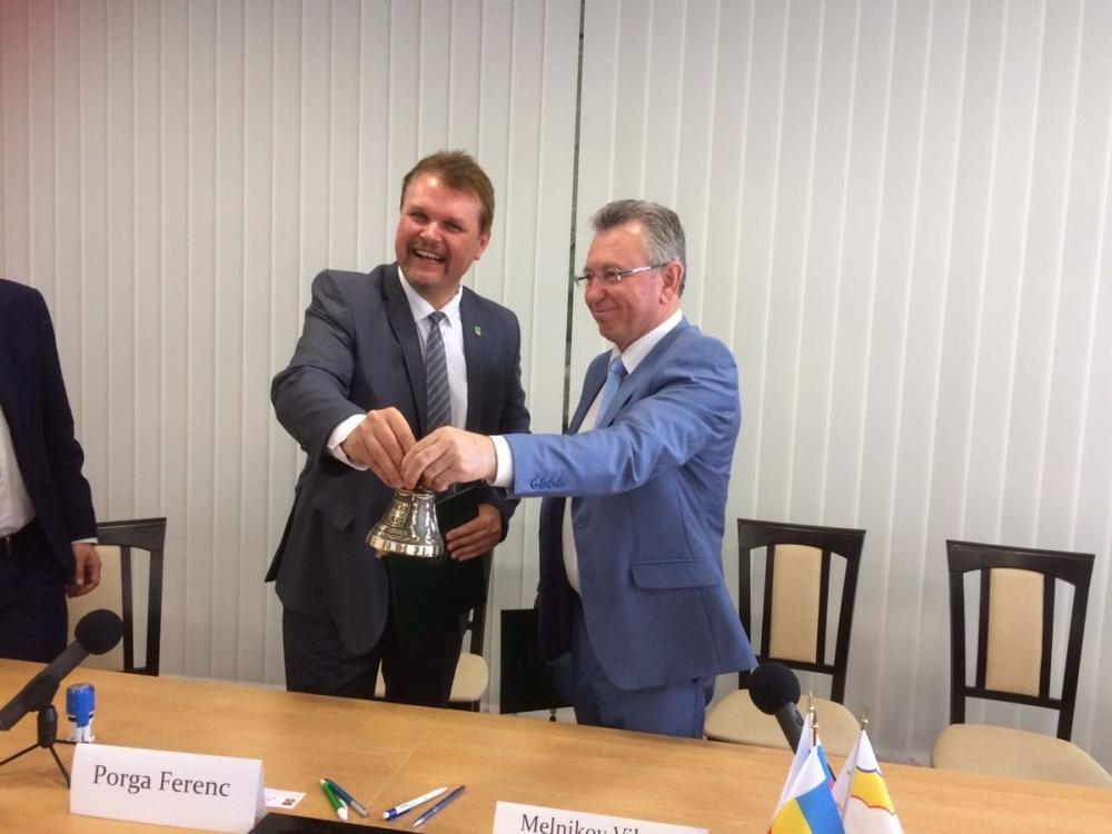 Волгодонск подписал меморандум о намерениях установить побратимские связи с венгерским городом Тамаши