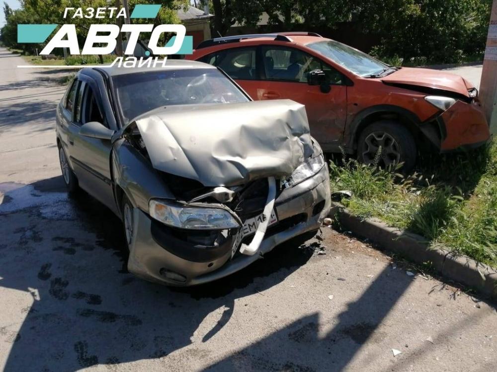 Волгодонец пострадал в аварии на пересечении Пионерской и Макаренко