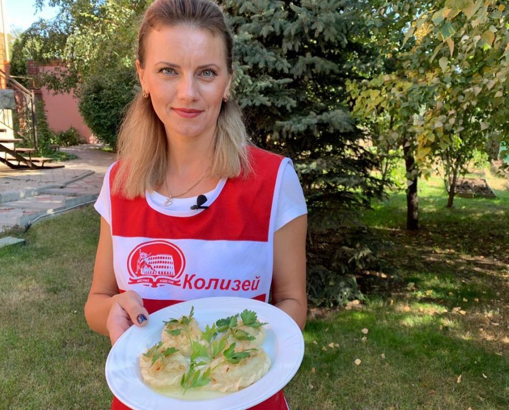 Валентина Калюжина готовила вареники один раз в жизни во время беременности