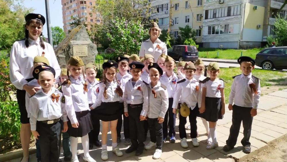 Свой парад Победы прошел в детском садике «Колокольчик»