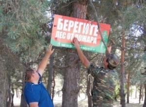 В Волгодонске ожидается чрезвычайная пожароопасность