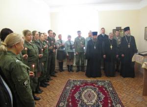 Священнослужители и военнослужащие Волгодонска обсудили принципы духовно-нравственного воспитания