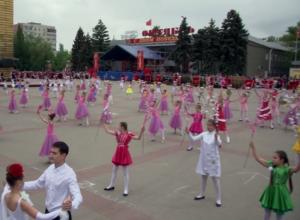 Самая массовая постановка Дня Победы в Волгодонске попала на видео