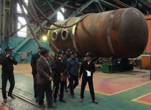 На волгодонском Атоммаше побывали японцы