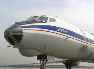В городской аэропорт прилетел первый Ту-134