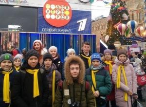 Школьник из Волгодонска побывал на главной елке страны в Кремле
