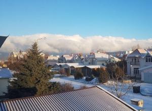 Ужасающе красивые облака нависли сегодня над Волгодонском