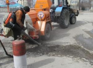 Волгодонские дороги продолжают приводить в порядок