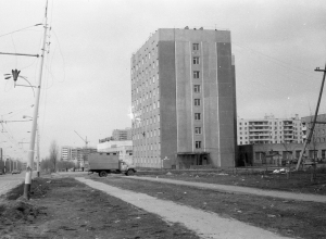 Волгодонск прежде и теперь: перекресток Энтузиастов и Молодежной