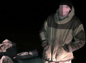 Транспортная полиция Волгодонска поймала двух молодых браконьеров с уловом на 200 тысяч рублей
