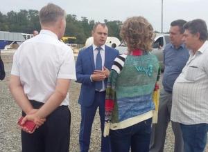 В Волгодонск с рабочим визитом прибыл министр ЖКХ Андрей  Майер