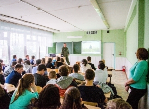 На встрече посвященной Дню неизвестного солдата волгодонским школьникам рассказали о Великой Отечественной Войне