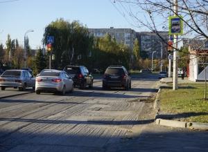Из-за непогоды ремонт проспекта Курчатова продлили еще на две недели