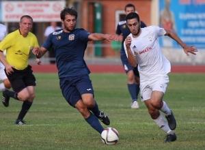 ФК «Волгодонск» одержал победу на «шахтерами»