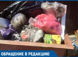 Бросайте мусор в свой контейнер, - предприниматели обратились к волгодонцам