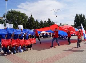 В Волгодонске на площади Победы прошло масштабное празднование Дня знаний
