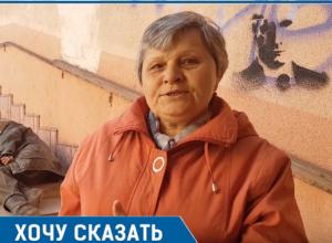 В переходе на вокзале бомжи, собаки и вонь невыносимая, - волгодончанка Зоя Абрамова