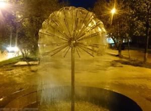 Волгодонцы смогут охладиться и спастись от жары у городских фонтанов