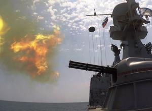 Артиллерийский корабль «Волгодонск» успешно поразил воздушную цель и уверенно лидирует в конкурсе «Кубок моря-2018»