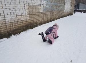Снежный «завал»: За сутки в травмпункт Волгодонска обратилось четверть сотни горожан