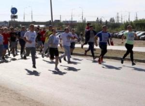 Полторы тысячи волгодонцев пробежали по «Малой Морской» во имя жизни ребенка